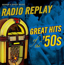 RADIO REPLAY - GREAT HITS OF THE 50's / VARIOUS ARTISTS - new 4 cd box set
