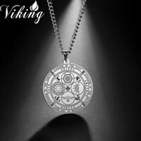 Seal of Four Archangels Pagan Emperor Kingdom of Rulership Wicca Amulet Necklace