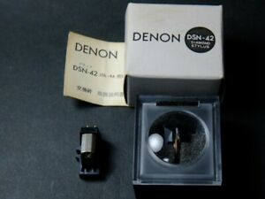 DENON DL-8 cartridge and DSN-42 stylus  / from Japan