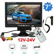 7 inch TFT LCD Color Car Rear View Headrest Monitor For Car Reversing Camera