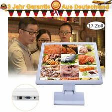 17 Zoll Touchscreen Monitor Kassenmonitor VGA USB für Kassensystem PC POS Weiß