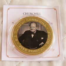 TRISTAN DA CUNHA ( TDC ) 2015 SIR WINSTON CHURCHILL PHOTOGRAPHIC £5 CROWN - coa