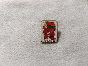 NOC Belarus Olympic Committee for Olympic Games London 2012 pin model-4