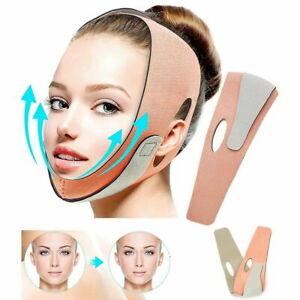 V Face Lift Slim Strap Belt Double Chin Reducer Anti Wrinkle Aging Band Bandage