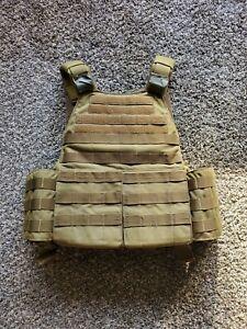 tactical assault gear T.A.G. XL coyote brown plate carrier