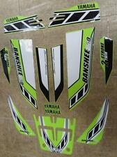 Yamaha banshee quad stickers graphics decal 13pc Special Edition LemonLime/White