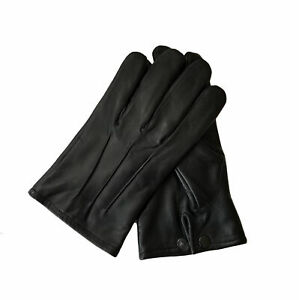 Men Medieval Costume Driving Fashion Leather Gloves Formal Victorian Steampunk