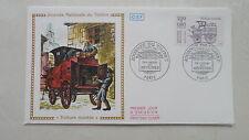 FDC Enveloppe Premier Jour - CEF - Journée du timbre - Voiture montée - 1988