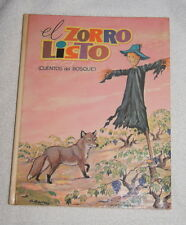El Zorro Listo (Cuentos del Bosque) Spanish language children's book
