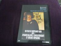 "COF 2 DVD ""BERTRAND BLIER : TROP BELLE POUR TOI Gerard Depardieu / MERCI LA VIE"""