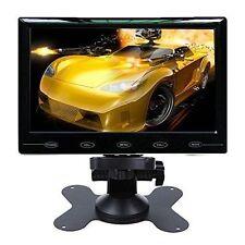 7'' Ultra Thin HD 800x480 TFT LCD Color Audio HDMI VGA Car Rear View Monitor