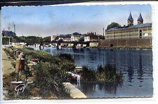 CP 77 Seine-et-Marne - Melun - Bords de la Seine et Maison Centrale