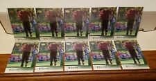 TIGER WOODS #1 2001 UPPER DECK 10 CARD ROOKIE LOT** REAL SWEET LOT**