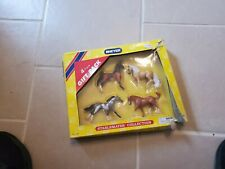 Rare Breyer Stablemates Collection 4 Piece Gift Pack Horses NEW #5981 Pony