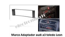 Marco Soporte auto-radio Seat Toledo Leon Audi A-3 (sin adaptador de antena)