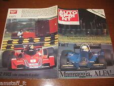 AUTOSPRINT 1977/2=GP F1 ARGENTINA=WOLF=JODY SCHECKTER=CARLOS PACE=