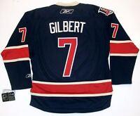 ROD GILBERT NEW YORK RANGERS REEBOK PREMIER THIRD 85th ANNIVERSARY JERSEY