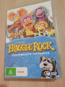 Fraggle Rock The Complete First Season DVD Region 4 PAL