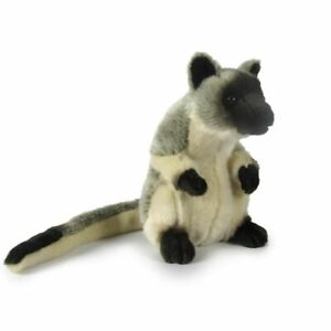 Korimco 20cm Tree Kangaroo Kids/Children Animal Soft Plush Stuffed Toy Grey 3y+