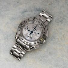 Omega Speedmaster Automatic Split Second Chronograph Silver Dial 3540.30