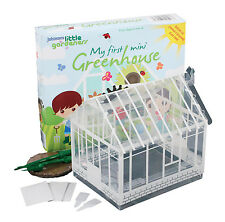 Johnsons Little Gardeners My First Mini Greenhouse Growing kit for kids