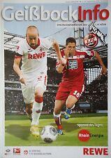 Geißbock Info 2013/14 1. FC Köln - Kaiserslautern