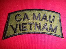 """Vietnam War """"CA MAU VIETNAM"""" Subdued Tab Patch"""