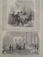 Riot Military Commission & Hospital New Orleans Louisiana 1866 Harper's Weekly
