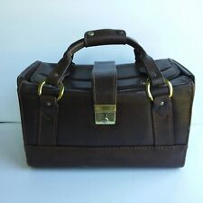 Vintage Imperial Leather Suitcase Luggage