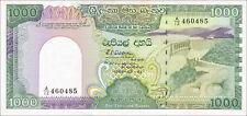 Sri Lanka 1000 rupie 1989 PICK 101b UNC