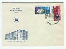 Cover E42 Germany 1970 DDR Leipzig trade fair