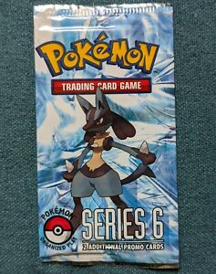 Sealed Pop Series 6 Booster Pack of Pokemon Cards
