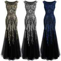 Angel-fashions Women's Pattern Sequin Cap Sleeves Long Evening Gown Dress 377