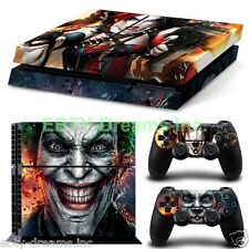 Batman DC Universe Harley Quinn Joker Skin Sticker Decal Protector for PS4
