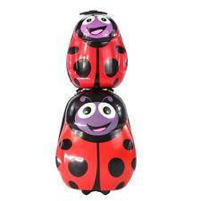 Maleta y mochila para niños niñas infantil mariquita trolley equipaje bolso