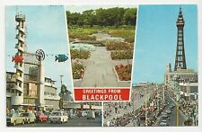 E T W Dennis, B.1501, Greetings from Blackpool Multiview, Posted 1978