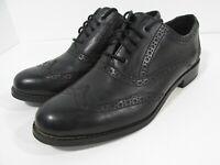 Cole Haan Skylar Black Leather Oxford Women D41595 Wingtip Dress Shoes 6B