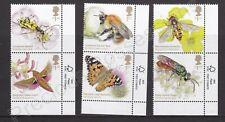 More details for gb qeii mnh stamp set 2020 brilliant bugs sg 4428-4433