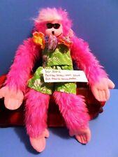 Berkley Design Pink Howling Long Legs Monkey 2002 plush(310-1610-2)