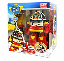 Robocar Poli ROY DELUXE Transformer/ Transforming Robot Toy / Diecasts/ Academy