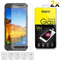 [2-Pack] KHAOS For Samsung Galaxy S7 Active HD Tempered Glass Screen Protector