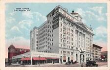 LOS ANGELES, CA California HOTEL TRINITY~Pacific Drug Co~PARIS EMBROIDERY  c20's
