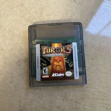 Turok 3 Shadow of Oblivion   Game Only   TESTED   RARE Nintendo Game Boy Color