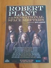 ROBERT PLANT - 2018 Australia Tour - Laminated Promo Poster - LED ZEPPELIN