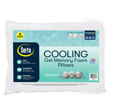 Serta Gel Memory Foam Cluster Pillows (2-pack)