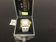 TW Steel 108 Goliath Armbanduhr Herrenuhr Uhr Herrenarmbanduhr aus Sammlung weiß