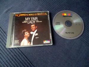 CD My Fair Lady Deutsche Aufnahme Paul Hubschmid Karin Huebner Rex Gildo MUSICAL