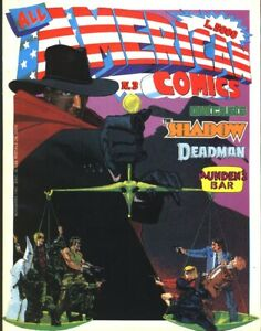 All American Comics #3 Italian Mag- Chaykin, Garcia-Lopez 1989 FREE SHIP