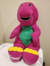 New ListingBarney The Purple Dinosaur #71245 Talking Plush 1992 Playskool Interactive Toy