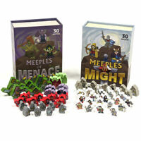 Meeples of Might & Menace - 60 Fantasy Monster Meeple Pawns for Tabletop RPGs